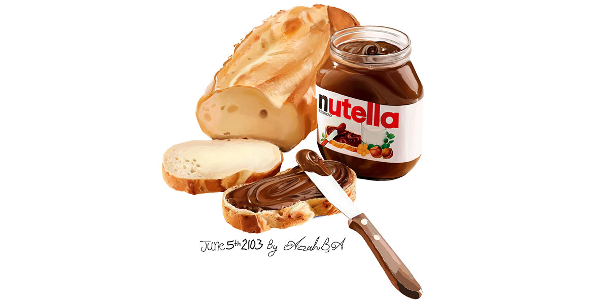 Nutella by Azzah B.A